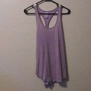 Purple razorback tank top